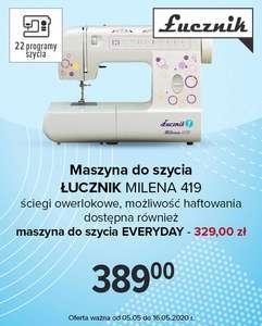 Maszyna do szycia Łucznik Milena 419 za 389zł @ Carrefour
