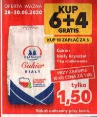 CUKIER ,KAUFLAND 1,50 zł /kg