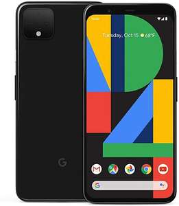 Google Pixel 4 XL 64 GB telefon komórkowy, czarny, Just Black, Android 10