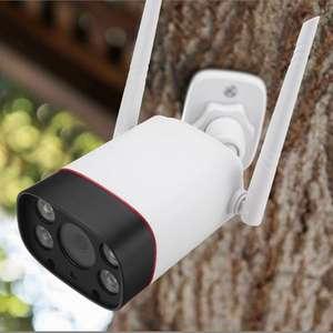 Zewnętrzna kamera IP DIGOO DG-W10 Dual LED Dual IR Light 1080P 2MP 3.6mm IP66 Outdoor Smart IP Camera
