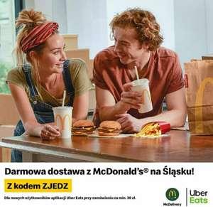 Darmowa dostawa w Uber Eats