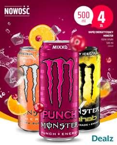 DEALZ Monster 4ziko Rózne Nowe Smaki