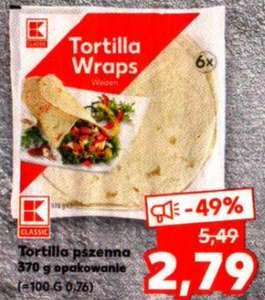 Tortilla pszenna 370g (6szt.) Kaufland