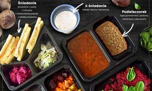 Do 19% zniżki na catering dietetyczny Fit Przystań @ Groupon