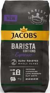 Kawa ziarnista 1kg Jacobs barista i kronung w dobrej przecenie tesco