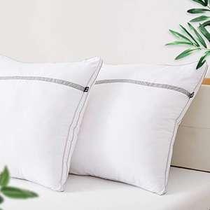 2X BedStory poduszka z mikrofibry 80x80cm