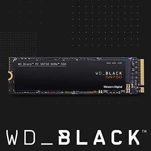 SSD - WD Black SN750 1TB (m.2, NVMe)