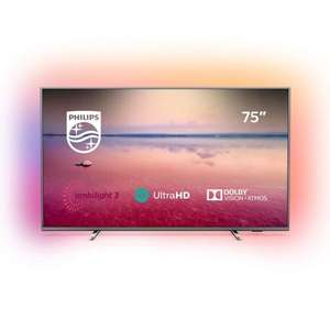 """Telewizor 75"""" Philips 75PUS6754, DirectLed, IPS, 60Hz, 1200PPI, Dolby Atmos, Dolby Vision, Smart Saphi, 2xUSB, 3xHDMI, HDR+, 20W RMS"""