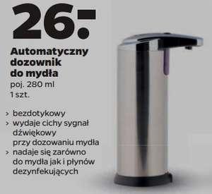 Automatyczny dozownik do mydła w Netto.