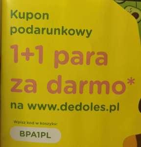DEDOLES SKARPETKI 1+1 para za darmo