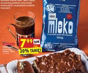 Mleko pełne w proszku 500g- biedronka