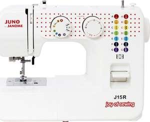 Maszyna do szycia Janome JUNO J15R, 860 obr/min