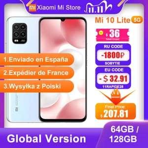 Xiaomi MI 10 Lite 5G (6/128GB) AMOLED Aliexpress z PL