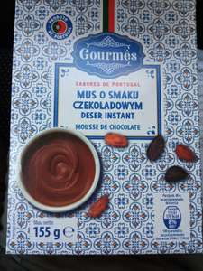 Mus o smaku czekoladowym Gourmes