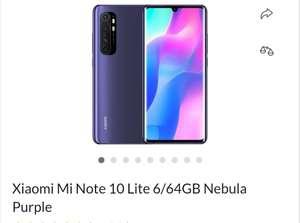 Xiaomi Mi Note 10 Lite X-kom fioletowy