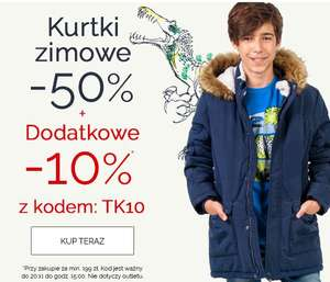 Dodatkowe -10% na kurtki zimowe (łączy się z trwajacym -50%) @endo.pl