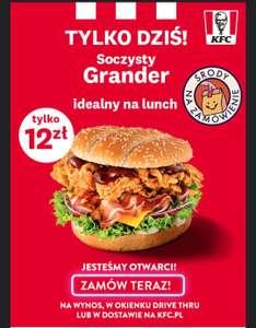 Grander 12 zł KFC