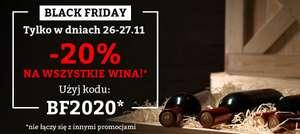 Black Friday w dobrewino.pl - 20% na wszystkie wina