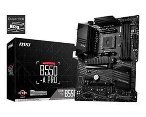 msi B550-A PRO AMD AM4 DDR4 M.2 USB 3.2 Gen 2 HDMI ATX