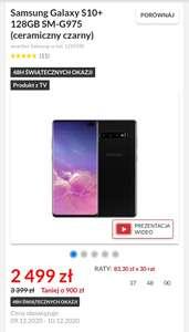 Ceramiczny Samsung Galaxy S10+ 128gb
