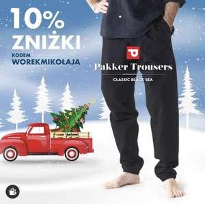 10% zniżki na spodnie pakker