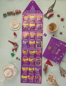 Kalendarz Adwentowy 24 dni z herbatą Irving (+2,70 zł do Skarbonki) @Auchan