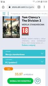Tom Clancy's The Division 2 - edycja standardowa