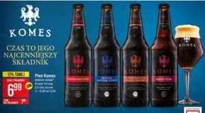 Piwa Komes: Barley Wine, Russian Imperial Stout, Porter Bałtycki Płatki Dębowe i Malinowy. PoloMarket