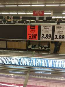 Łosoś filet XXL w Lidlu, cena za 1 kg
