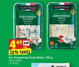 Biedronka GustoBello Gorgonzola 2 rodzaje 150g