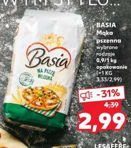 Mąka na pizzę Basia za 2.99