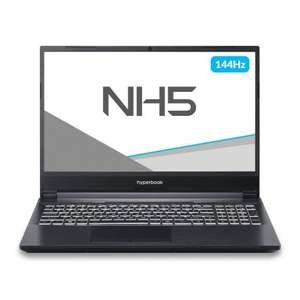 HYPERBOOK NH5 I7-10870H RTX 3060 15,6 cali bez dysku i ramu od 17.02