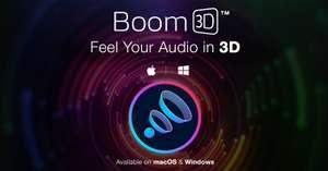 Boom 3D - DPS dla Windows i Mac - promocja walentynkowa
