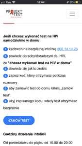 Darmowy test hiv- zadbaj o bezpieczenstwo w walentynki