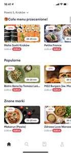 Bolt Food Kraków -30% na Wszystko + darmowa dostawa
