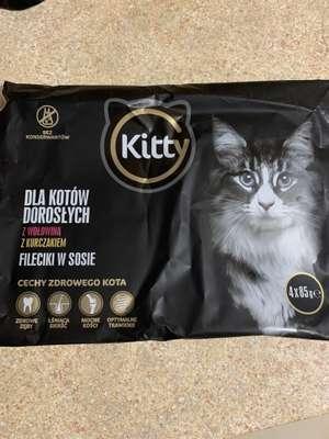Biedronka karma dla kota Kitty Excellence 4x85g przy zakupie 2 szt.