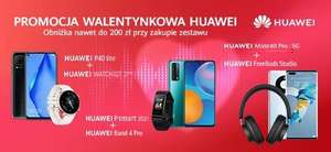 Promocja walentynkowa Huawei w media expert
