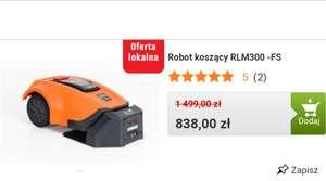 Robot koszący NAC RLM300 - FS lokalnie w wielu sklepach Obi