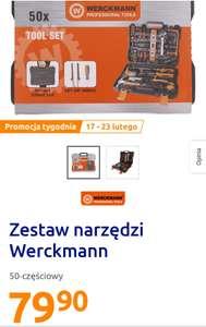 Zestaw narzędzi Werckmann 50 elementów. Action