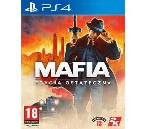Mafia - Edycja Ostateczna (89 zł), Mafia Trylogia (139 zł), Call of Duty: Black Ops Cold War (179 zł) na PS4 i Xbox One w RTV Euro AGD