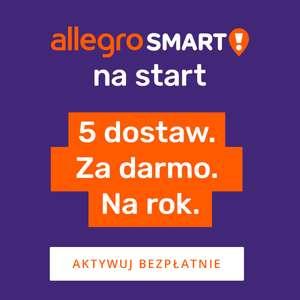 Allegro Smart na Start ! - 5 darmowych dostaw w ciągu roku dla wszystkich, którzy nie mają wykupionego pakietu Smart.