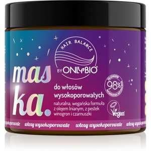 Promocja na kosmetyki do włosów OnlyBio w @Rossman - przykłady