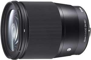 Obiektyw Sigma 16 mm F1,4 DC DN Mocowanie Sony-E