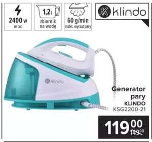 Generator pary KLINDO KSG2200 -21