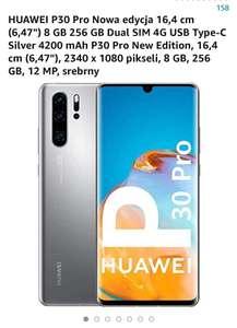 Huawei P30 pro 8GB 256GB Nowa edycja