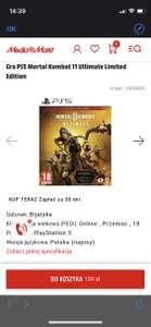 Gra PS5 Mortal Kombat 11 Ultimate Limited Edition