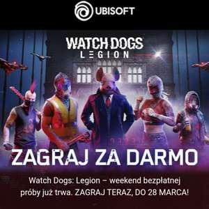 Watch Dogs: Legion - darmowy weekend od 25 do 28 marca (PC, PS4, PS5, Xbox One, Xbox Series X/S)