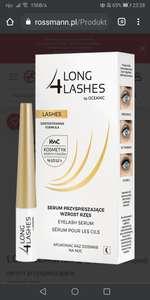 Long 4 lashes - serum przyspieszające wzrost rzęs - Rossmann
