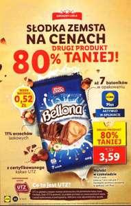 Wafelki w czekoladzie Bellona 150 g przy zakupie 2 szt. z aplikacją Lidl Plus - Lidl