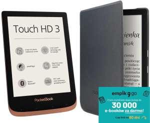 Czytnik ebooków POCKETBOOK Touch HD 3 + etui